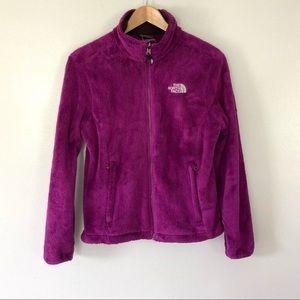 The North Face Osito Fleece Zip Up Jacket Purple